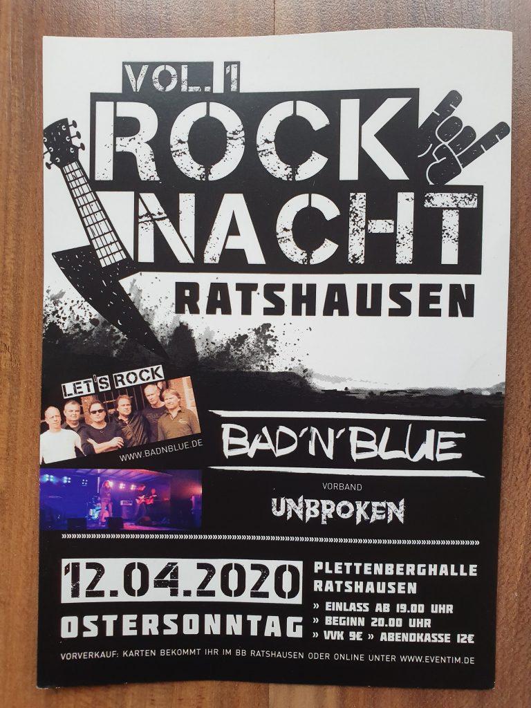 Rocknacht Ratshausen 2020